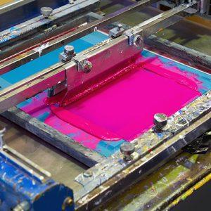 Textilveredelung Siebdruck
