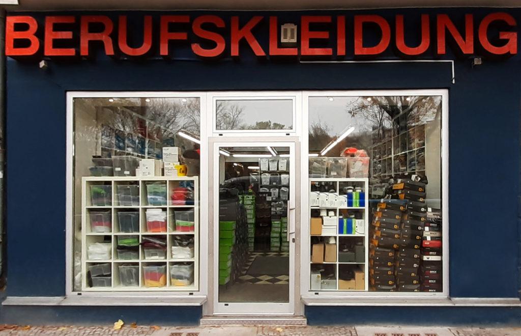 Laden Berufsbekleidung Berlin Müllerstrasse